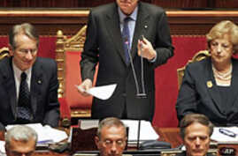 Italy's Monti Sets Agenda for New Government