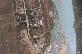 New satellite images like this one show North Korea's resumption of work at Yongbyon nuclear complex, April 30, 2012.