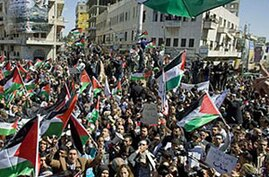 Thousands of Palestinians Rally for Political Unity