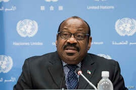 Anatolio Ndong Mba, Equatorial Guinea's U.N. ambassador and the head of the U.N.'s 54-nation African Group, met with U.S. Ambassador to the U.N. Nikki Haley regarding reported remarks made by President Donald Trump.