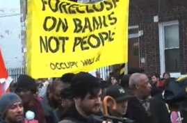 Occupy Movement Protests Home Foreclosures