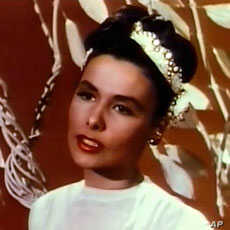 Lena Horne in the 1946 film 'Till the Clouds Roll By'