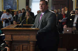 New Jersey Governor Christie Says No to Presidential Bid