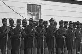 Black soldiers during the US Civil War