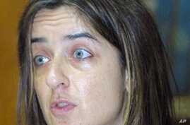 Carina Tertsakian, researcher in the Africa division of Human Rights Watch (File Photo)