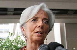 Washington Backs Lagarde to Head IMF