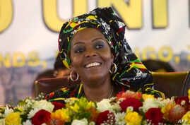 Zimbabwe 1st Lady Grace Mugabe at 16th Zanu-PF Conference in Masvingo