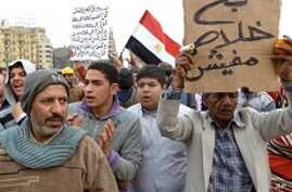 Egyptian Protesters, Government Dig In