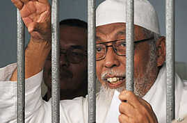 Indonesian Court Reduces Radical Islamic Cleric's Sentence