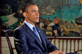 President Obama records his weekly address for 17 Jul 2010