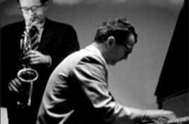 Pianist Dave Brubeck and his band in Poland