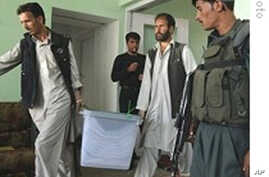 Dozens of Candidates Banned from Afghan Elections