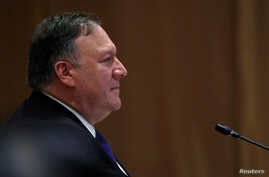 U.S. Secretary of State Mike Pompeo attends an ASEAN-U.S. Ministerial Meeting in Singapore, Aug. 3, 2018. Pompeo and his Turkish counterpart, Minister of Foreign Affairs Mevlut Cavusoglu, met on the sidelines of the Singapore meeting to discuss U.S.