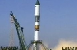 Russia Launches Spacecraft to ISS