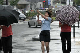 Tropical Storm Causes Havoc in China, Koreas