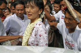 Burma Democracy Leader Cites Progress, Challenges