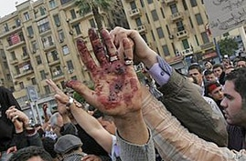 Hundreds Return to Cairo's Tahrir Square After Bloody Clas