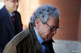 FILE - John Kapoor, the billionaire founder of Insys Therapeutics Inc, arrives at the federal courthouse for the first day of the trial accusing Insys executives of a wide-ranging scheme to bribe doctors to prescribe an addictive opioid medication, i