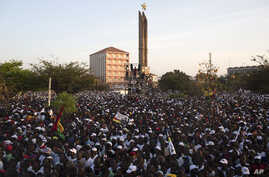 Presidential campaign rally in Bissau, April 11, 2014.