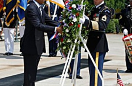 Obama Pays Tribute to Troops, Makes Key Appointments