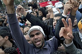 Protesters Call for Ban of Tunisian RCD Party