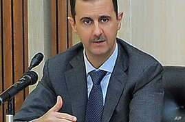 US, Europe Call for Syria's Assad to 'Step Aside'