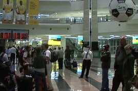 Johannesburg's extensively refurbished international airport can now handle 28 million passengers yearly