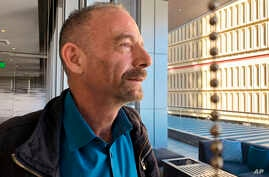 "Timothy Ray Brown, shown in Seattle March 4, 2019, is also known as the ""Berlin patient,"" the first person to be cured of HIV infection, more than a decade ago. Now researchers are reporting a second patient has lived 18 months after stopping HIV tre"