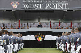 U.S. President Barack Obama speaks at the commencement ceremony at the United States Military Academy at West Point, N.Y., May 28, 2014.
