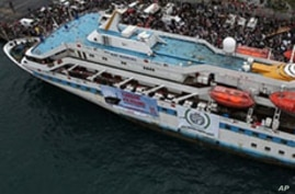 Aid Flotilla Heads to Gaza to Break Israel's Blockade