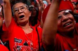 Thai Government Supports Release of Detained Red Shirt Protesters