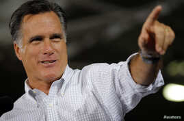 Republican presidential nominee Mitt Romney speaks at a campaign rally in Avon Lake, Ohio October 29, 2012.