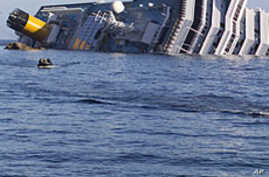 Cruise Ship Search Off Italy Finds 12th Body, Hard Disk
