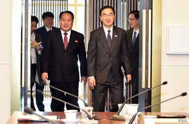 The 5th inter-Korean high-level talks on the implementation of the joint declaration of Pyongyang.