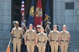 US Naval Officers Face Grueling Curriculum