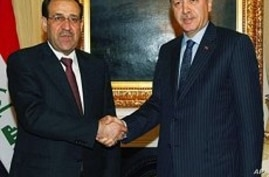 Iraqi PM Meets With Turkey's Leaders