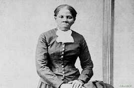 Anti-slavery crusader Harriet Tubman is seen in a picture from the Library of Congress taken by photographer H.B. Lindsley between 1860 and 1870.