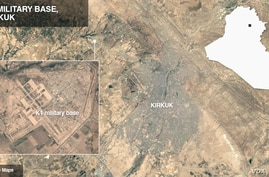 K1 military base, near Kirkuk, Iraq