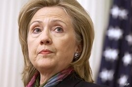 Clinton Condemns WikiLeaks Releases of 'Alleged' US Diplomatic Cables