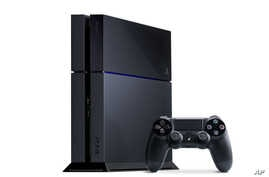 FILE - Sony PlayStation 4.