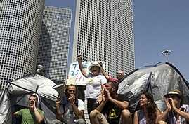 Israelis Protest High Cost of Living