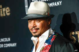 "FILE -  In a September 23, 2017 file photo, actor Terrence Howard attends Fox's celebration of the ""Empire"" and ""Star"" television shows at One World Observatory in New York."