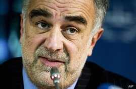 Luis Moreno-Ocampo, chief prosecutor of the International Criminal Court at The Hague (file)