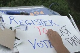 US Hispanic Groups Face Challenge in Getting Out the Vote