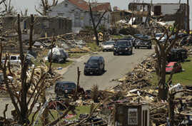 Obama Offers Message of Hope and Support to Tornado-Damaged Joplin, Missouri
