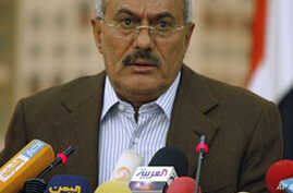 Yemen's President Warns Coup Would Lead to Civil War