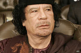 Interpol Issues Arrest Warrant For Gadhafi