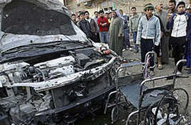 Car Bomb Kills 48 at Baghdad Funeral