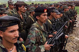 Revolutionary Armed Forces of Colombia (FARC) rebels (2000 file photo)