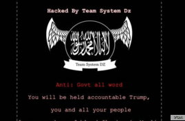 A hacker posted this message on the website of Ohio Gov. John Kasich, June 25, 2017